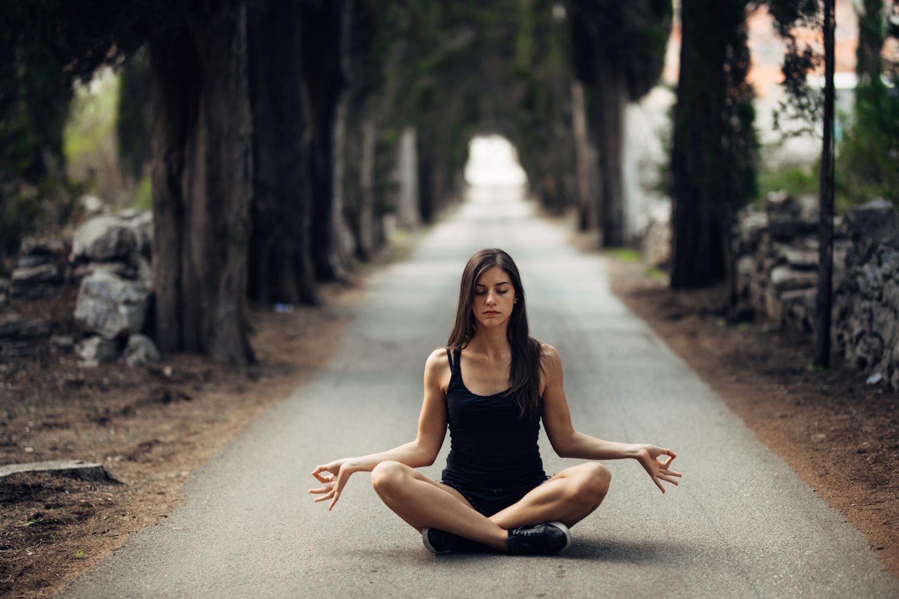 Gesund durch Meditation?