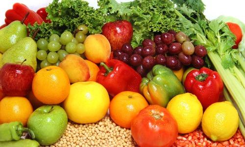 vegane Ernährungspyramide – Obst, Gemüse und Hülsenfrüchte