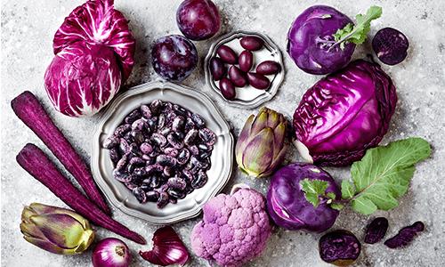 Violettes / lila Gemüse: so gesund ist es wirklich