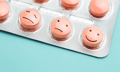 Depressions tabletten