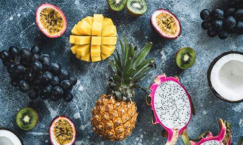 Exoten Obst