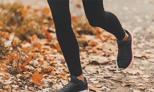 Sport und Bewegung gegen den Herbstblues