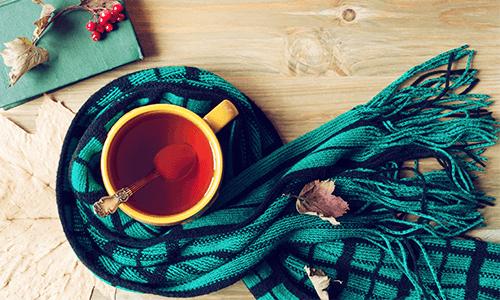 Tee Getränk Schaal