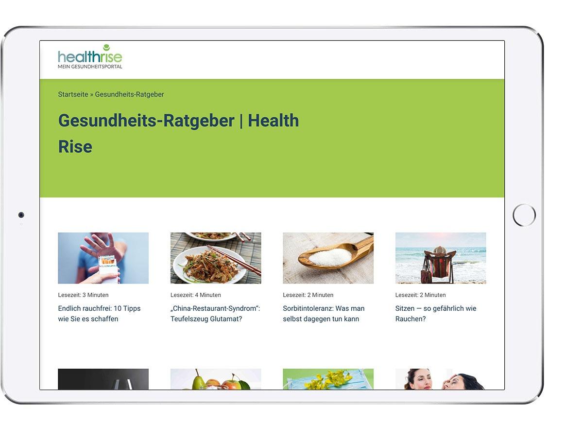 Health Rise Gesundheitsratgeber