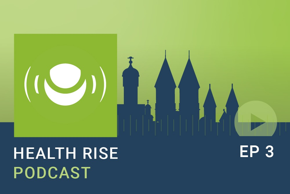 Health Rise Podcast Cover Stadt
