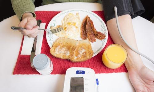 Blutdruck mit Lebensmitteln erhöhen