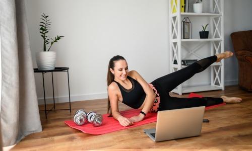 Online-Kurse gegen Stress und Bewegungsmangel