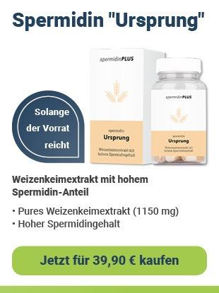 spermidinPLUS Spermidin Ursprung 60 Kapseln nur 39,90 € kaufen