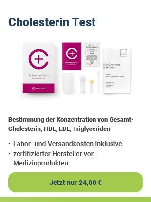 cerascreen Cholesterin-Test für zu Hause bei Health Rise kaufen