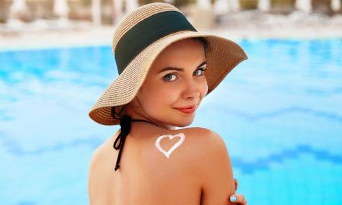 Sonnenschutz der Haut