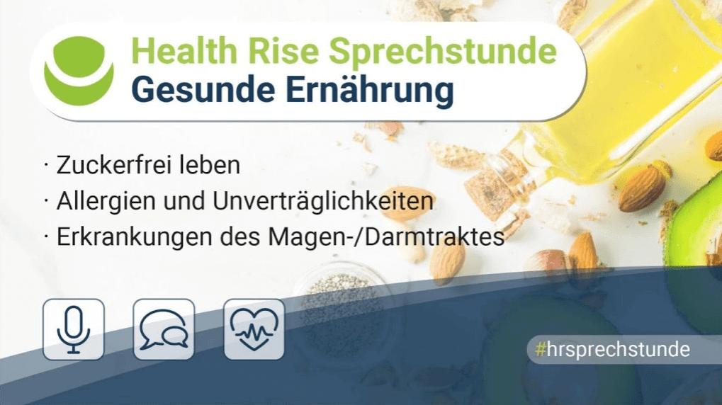 Health Rise Sprechstunde 15.08.