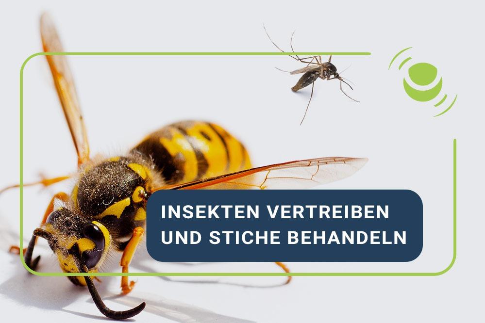 Insekten vertreiben
