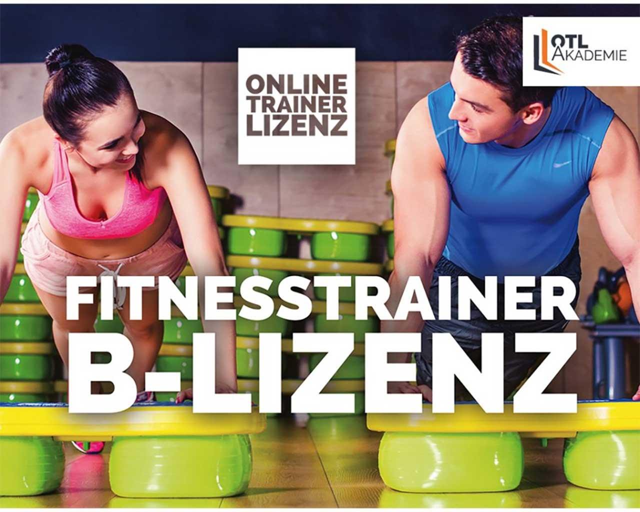 Fitnesstrainer B-Lizenz online Ausbildung (Präventionskurs § 20 SGB)
