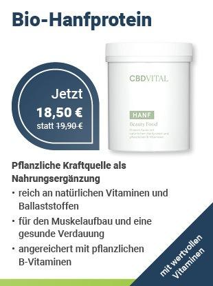 CBDVital Beauty Food Bio Hanfprotein bei Health Rise kaufen