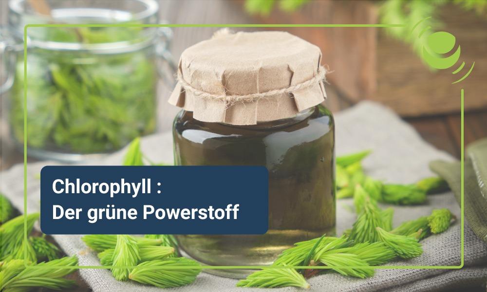 Chlorophyll und die Vorteile des grünen Farbstoffs