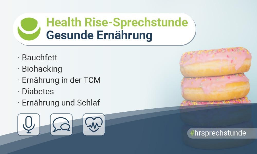 Fünfte HR-Sprechstunde: Gesunde Ernährung