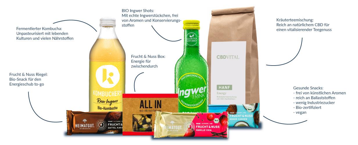 Healthy Box im Health Rise Shop