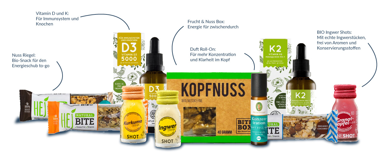 Energy Box im Health Rise Shop