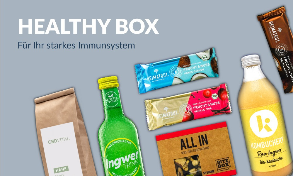 Healthy Box – Gesündere Alternativen für den kleinen Hunger