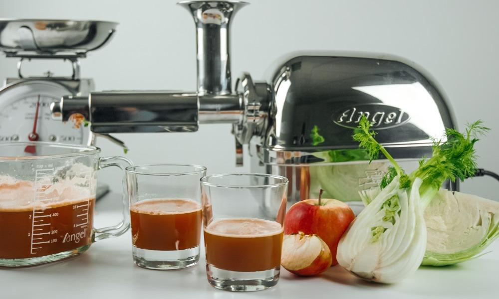 Saft für eine gesunde Darmflora mit Fenchel und Karotten