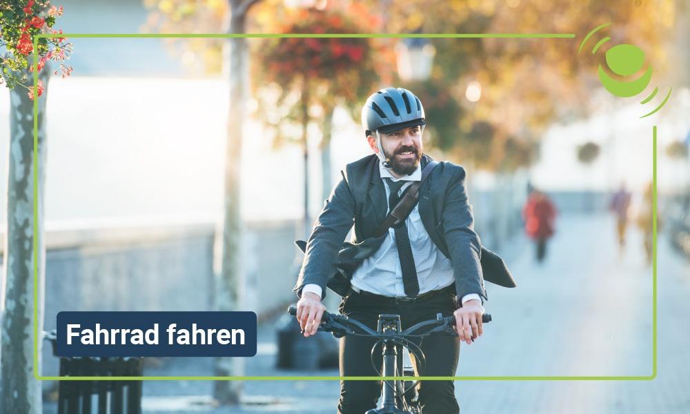 Fahrrad fahren und die gesundheitlichen Vorteile