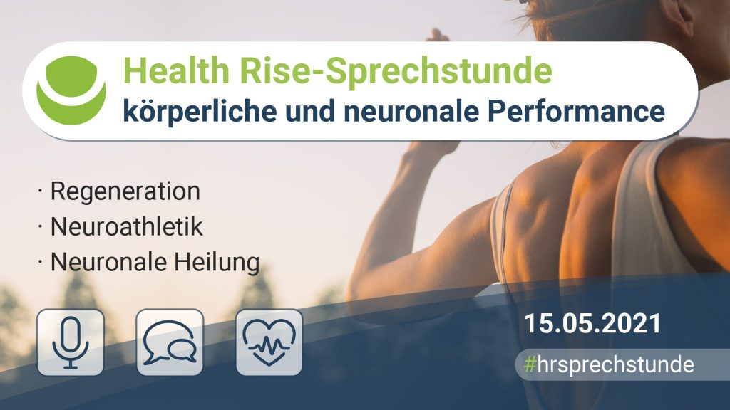 health rise sprechstunde körperliche und neuronale performance