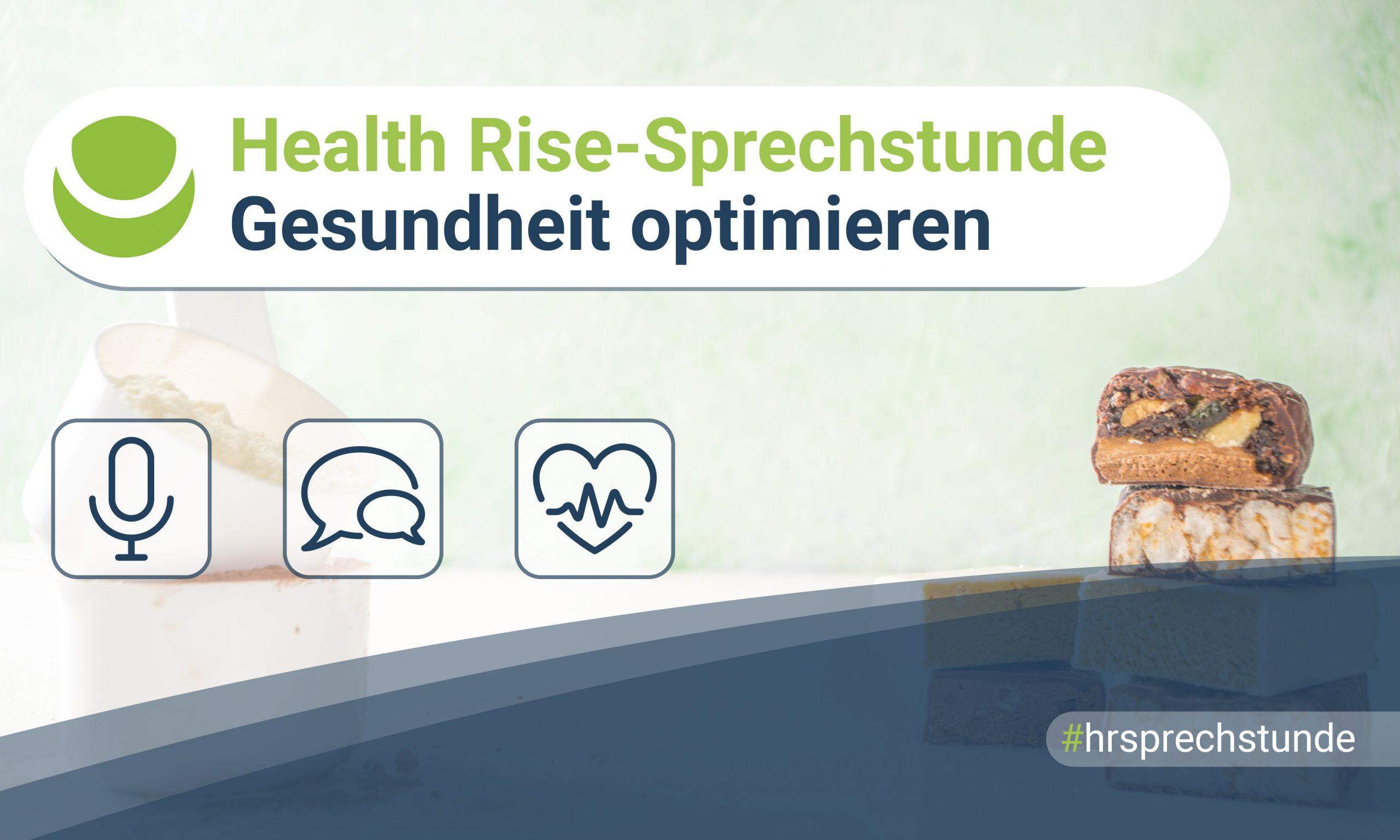 Health Rise-Sprechstunde – Gesundheit optimieren