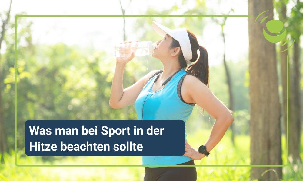 Sport beiHitze