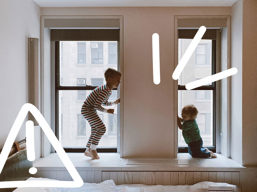 Ein Unfall mit Kind oder Baby kann oft vermieden werden